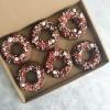 Vegan Candy Cane Doughnuts