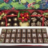cocoapod chocolates personalised christmas chocolate hamper