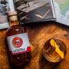 Steel Aged Manhattan Whiskey Cocktail