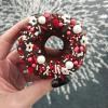 Vegan 'Candy Cane' Doughnuts (6)