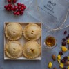 4 Classic Mince Pies (Gluten Free, Wheat Free, Palm Oil Free)