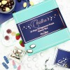 Personalised 24 Days Of Vegetarian Sweet Treats Advent Box