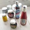 Silver Condiment Lids Collection