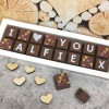 Personalised I LOVE YOU Box of Chocolates classic