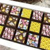 Cocoapod chocolate mosaic rabbits chicks easter egg gift