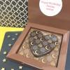 Cocoapod chocolates Personalised Eid Mubarak Message Chocolate Heart