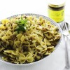 Aubergine & Mushroom Pasta