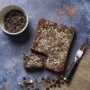 Chocolate and Hazelnut Brownie (made without gluten containing ingredients*)