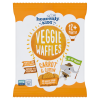 Kids Vegetable Waffles with Carrot & Cumin (pack of 10)