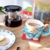 Milky tea and biscuits