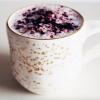 Blueberry latte