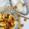 Mini Madeleines - Goat cheese, Walnut & Lemon