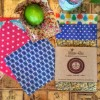 Reusable Beeswax Wraps - Snack & Jar Pack of 3