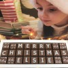 Merry Christmas Chocolates with Personalised Name