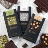 'Nutty' 3 x 110g Raw Organic Vegan Chocolate Bars