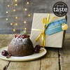 McLaren's Christmas Pudding in wooden gift box