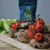 Turkey burgers with Seaweed Herb Mix