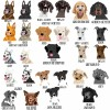Personalised Dog Love Bamboo Coaster