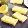 Raw Gluten Free and Vegan Lemon Tart Tray (14 Slices)