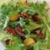 On a salad