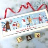 Cocoapod Personalised Christmas Chocolate Gift with Santa and Friends Image