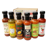 Hot to Extreme Chilli Sauce 6 Bottle Gift Set