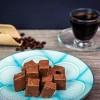 Handcrafted Selection of Dark Chocolate & Caramel Fudge (Pack of 4)