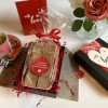 Valentine's Day Double Chocolate Marshmallows Gift Box with Tea