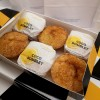 Coco Bomblets | Authentic Portuguese Coconut Pastries (Box of 6)