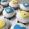 Message Heart Cupcake Gift Box