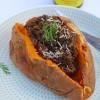 Aubergine & Mushroom Jacket Potato