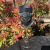 Highland cow personalised wine glass