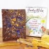 Lemon Honeycomb and Cornflower Vegan Chocolate