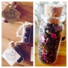Tea Wedding Favour Cork Bottle
