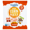 Heavenly Kids Corn Puffs with Sweet Potato & Carrot (1 case containing 6 x 15g bags)