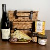 French Gift hamper with creamy blue cheese