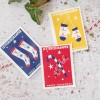 Festive postage stamps Christmas edition