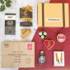 Luxury Letter Box Hamper Christmas with gin
