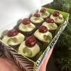 Christmas Pudding Brownie Box Classic