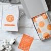 Caramel Chickpea Blondies | Vegan & Refined Sugar Free (Box of 8)