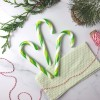 Alcoholic Gin & Elderflower Candy Canes (Set of 5)