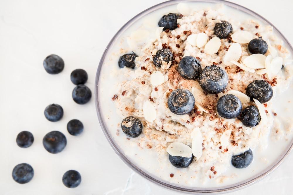 Gluten Free Breakfast: Quinoa Protein Porridge