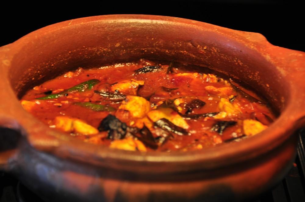 Kerala Style Fish Curry by Mallika Basu