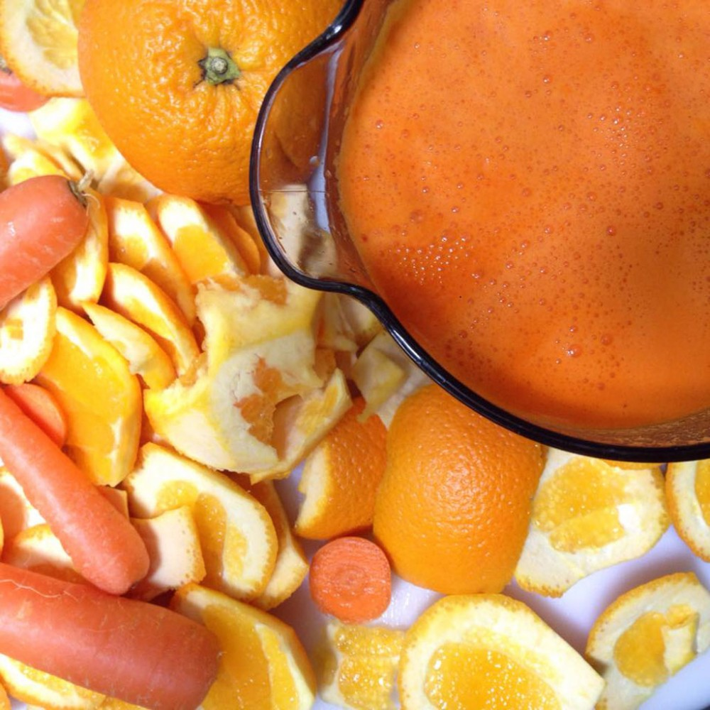 Orange and Carrot Juice Recipe