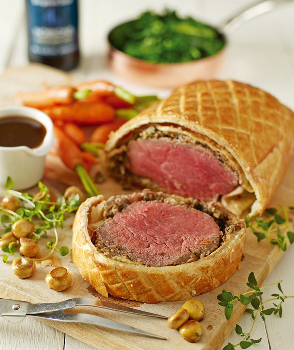 Made in Shropshire: Battlefields Beef Wellington with Stout Gravy