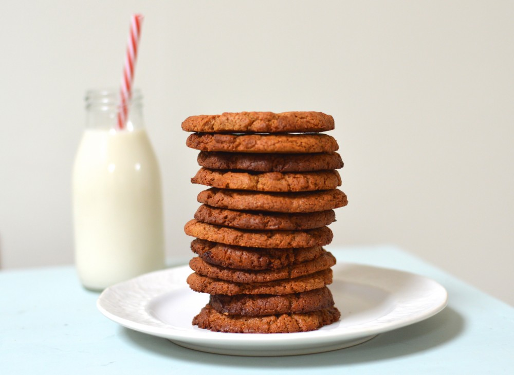 4 Ingredient Ginger Cookies
