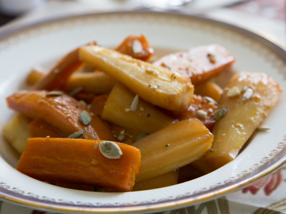Festive Squash and Parsnip with Brown Butter