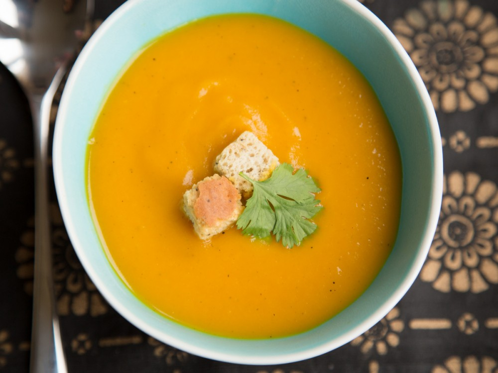 Carrot and Cumin Soup with Ginger