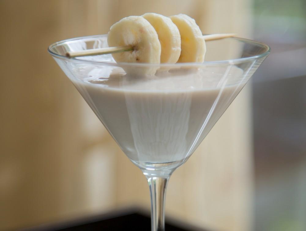 Banana and Nutmeg Cocktail