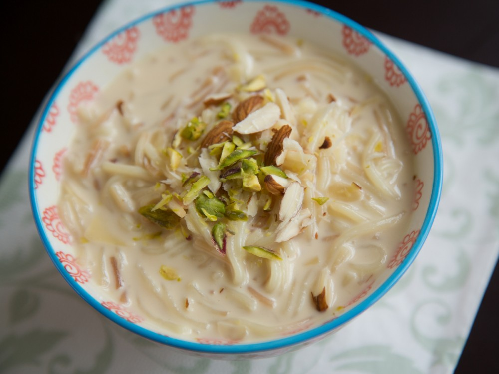 Vermicelli Kheer (Vermicelli Pudding)